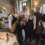 De koks Joost van der Ham, Alain Adriaanse, Harry Visbeen, Jeroen de Bruin en Jeroen van der Geest. Foto: Ronald Stam Fotografie.