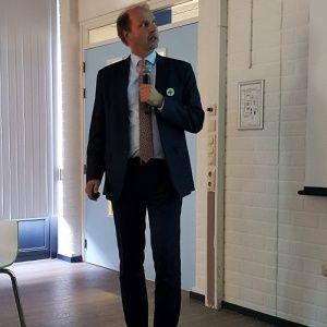 Erik Booden, directeur van het ziekenhuis.